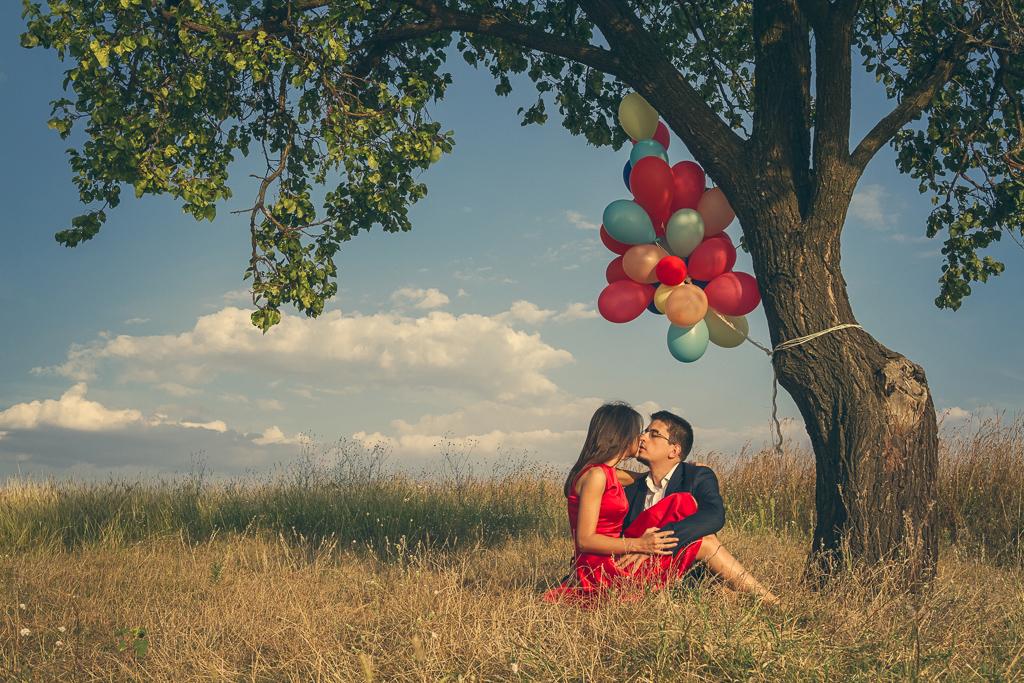 Fotograf nunta Bucuresti - Sedinta Logodna Creativa - Ana si Lucian